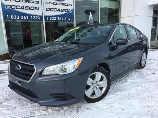 Used 2017 Subaru Legacy 2.5I TOUT EQUIPÉ CAMERA DE RECUL IMPECCA for sale in St-Georges, QC