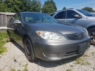 Used 2005 Toyota Camry LE-EXTRA CLEAN-4 CYL- ONLY 190K-MUST SEE!!! for sale in Scarborough, ON