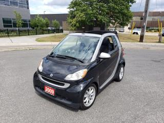 Used 2009 Smart fortwo Convertible, Only 38k, Auto,3/Y warranty avai for sale in Toronto, ON