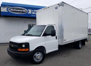 Used 2014 Chevrolet Express 3500 16FT w/ 8Ft High Box *Local Truck, Back Up Camera* for sale in Langley, BC