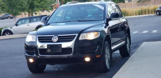 Used 2009 Volkswagen Touareg HIGHLINE Certified 2 year Warranty TDI Diesel Leat for sale in Mississauga, ON