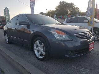 Used 2008 Nissan Altima 2.5 S- PUSH START-EXTRA CLEAN-ALLOYS-AUX-MUST SEE! for sale in Scarborough, ON