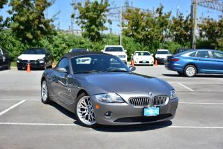 Used 2005 BMW Z4 Roadster 3.0i for sale in Burnaby, BC