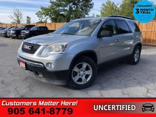 Used 2008 GMC Acadia SLE  8-PASS POWER GROUP (AS TRADED) for sale in St. Catharines, ON