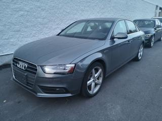 Used 2013 Audi A4 2.0T Prem Plus Tiptronic qtro Sdn NAV, SUNROOF, AW for sale in Ottawa, ON