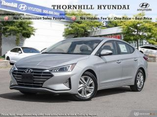 New 2020 Hyundai Elantra Preferred w/Sun & Safety Package IVT for sale in Thornhill, ON