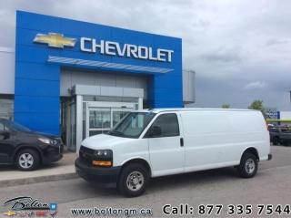 Used 2019 Chevrolet Express Cargo Van RWD 2500 155 for sale in Bolton, ON
