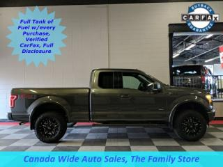 Used 2015 Ford F-150 4X4, Super Cab, FX-4, Back Up Camera, Power Seat, Sport Package for sale in Edmonton, AB