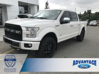 Used 2017 Ford F-150 Platinum Heated/Cooled Leather Seats for sale in Calgary, AB