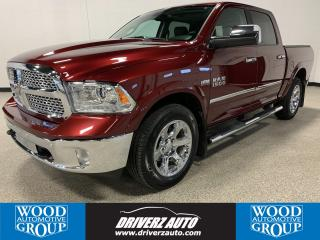 Used 2017 RAM 1500 Laramie CLEAN CARFAX, HEATED/COOLED SEATS, REMOTE START for sale in Calgary, AB