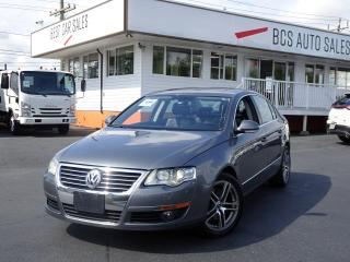 Used 2006 Volkswagen Passat 3.6L V6, Leather Seating, Bluetooth, Sunroof for sale in Vancouver, BC