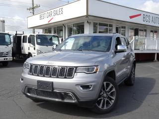 Used 2018 Jeep Grand Cherokee Limited Edition, Luxury Group, for sale in Vancouver, BC