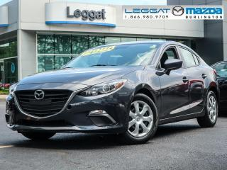 Used 2015 Mazda MAZDA3 GX - 6SPEED MANUAL, A/C, BLUETOOTH for sale in Burlington, ON