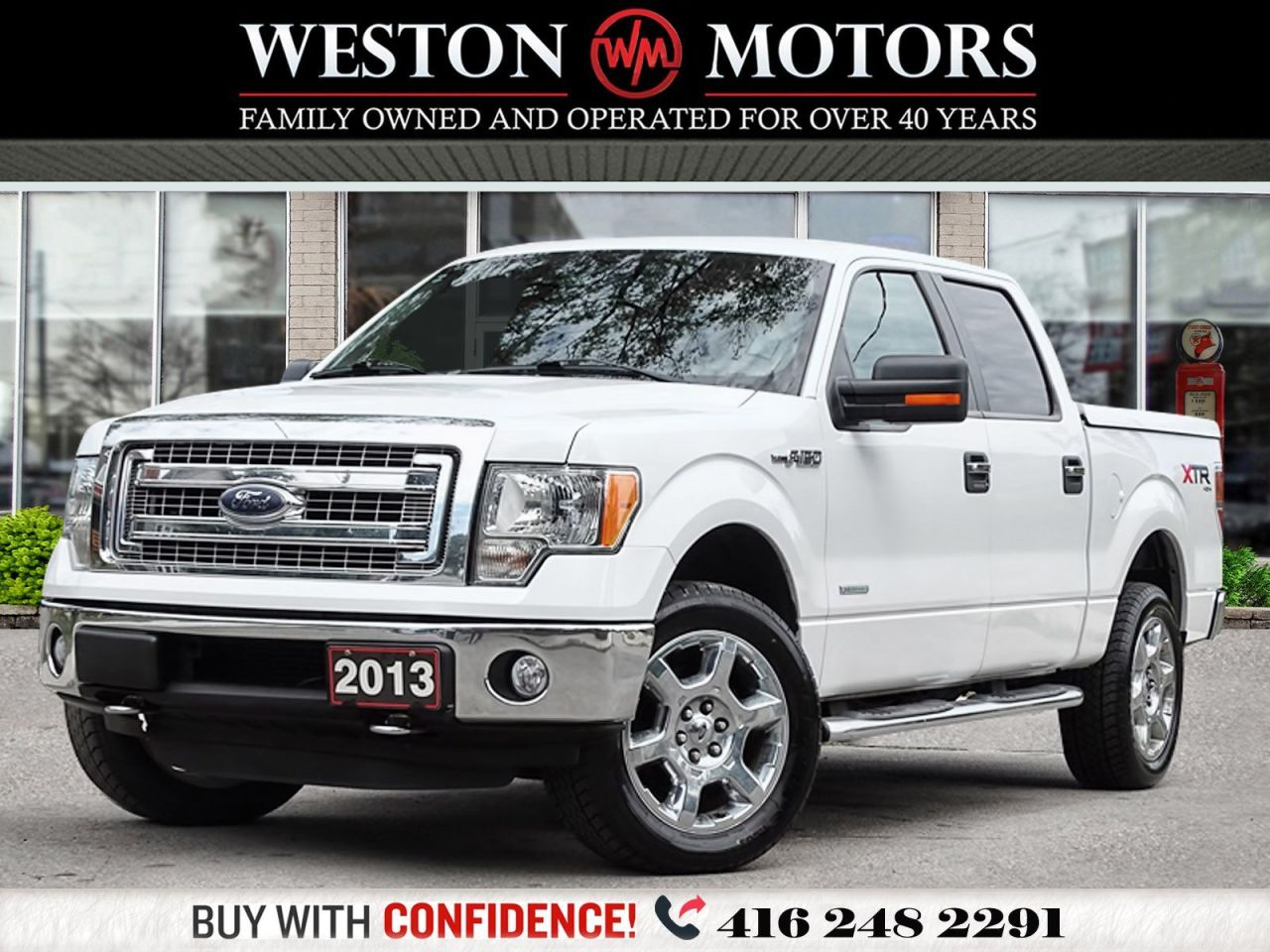 2013 Ford F-150 XTR*4X4*CREWCAB*BLUETOOTH*REV CAM!!*