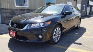 Used 2013 Honda Accord EX-SUNROOF-REAR CAMERA-HEATED SEATS for sale in Tilbury, ON