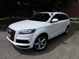 Used 2011 Audi Q7 TDI PremiumPkg/SLine/PanoRoof/RevCamera/CooledSeat for sale in BRAMPTON, ON
