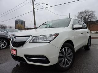 Used 2016 Acura MDX Tech pkg for sale in BRAMPTON, ON