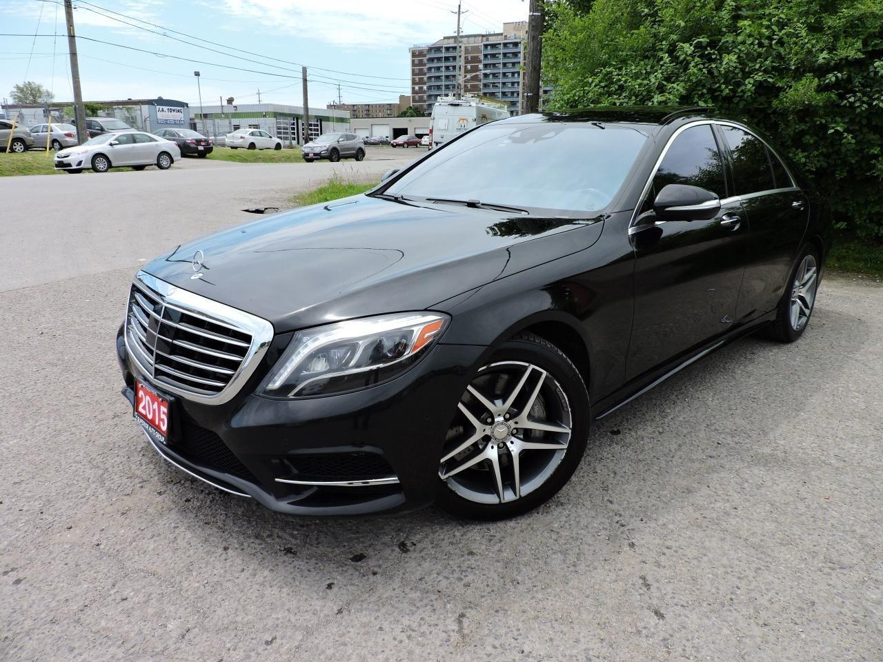 Used 2015 Mercedes-Benz S-Class S 550 Navi/Bluetooth/PanoRoof for