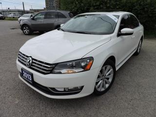 Used 2013 Volkswagen Passat TDI /Leather/Sunroof/Bluetooth for sale in BRAMPTON, ON