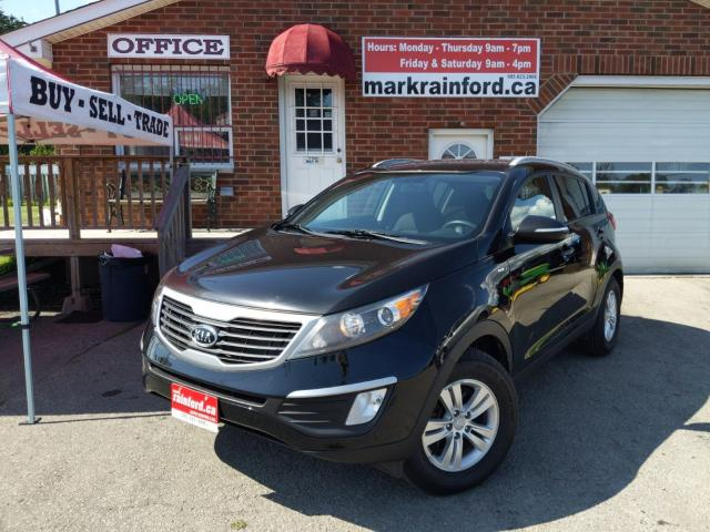 2012 Kia Sportage LX AWD Alloys Bluetooth USB