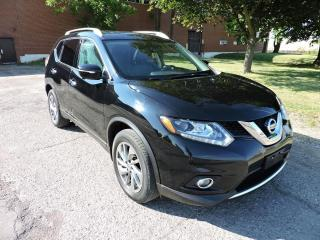 Used 2015 Nissan Rogue SL AWD Leather/Navi/PanoRoof/ for sale in BRAMPTON, ON