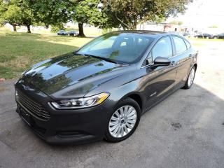 Used 2015 Ford Fusion S Hybrid *Clean Carfax* Reverse Camera | Alloys for sale in BRAMPTON, ON