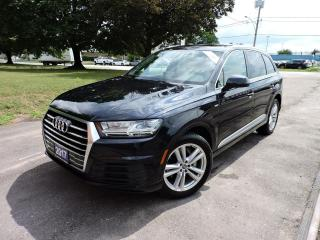 Used 2017 Audi Q7 Technik/SLine/RemoteStart/Navi/PanoRoof/Blindspot for sale in BRAMPTON, ON