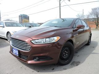 Used 2015 Ford Fusion SE Hybrid | BACK UP CAM & SENSORS for sale in BRAMPTON, ON