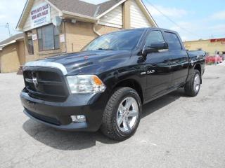 Used 2009 Dodge Ram 1500 SPORT 4X4 Crew Cab 5.7L HEMI Loaded ONLY 139,000Km for sale in Rexdale, ON
