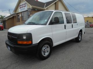 Used 2013 Chevrolet Express 2500 2500HD Cargo 4.8L Loaded 4Dr Divider ONLY 9,000Km for sale in Etobicoke, ON