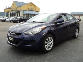Used 2013 Hyundai Elantra GL 2.0L HeatedSeats Bluetooth for sale in Brantford, ON