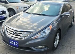 Used 2012 Hyundai Sonata Limited w/Navi for sale in Hamilton, ON