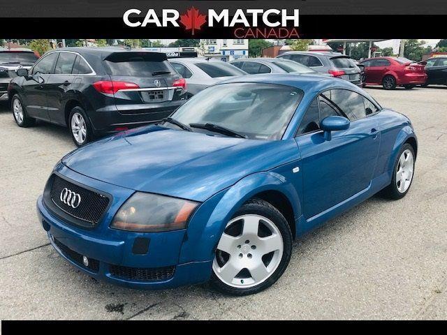 2001 Audi TT LEATHER / 6-SPD / 220KM
