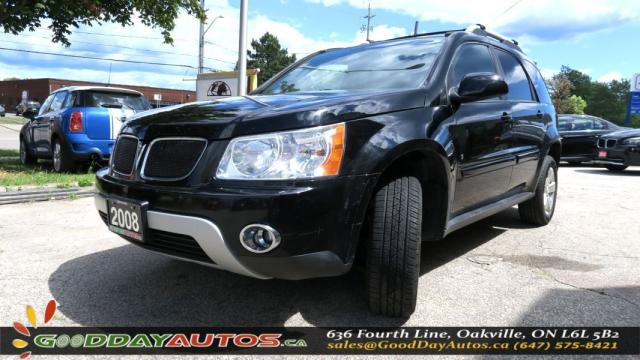 2008 Pontiac Torrent LOW KM|NO ACCIDENT|LEATHER|SUNROOF|ALLOYS| KEYLESS