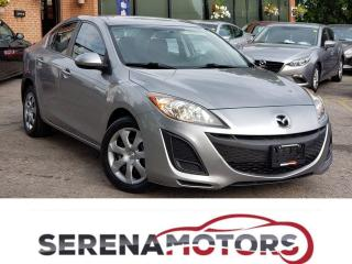 Used 2010 Mazda MAZDA3 GX | AUTO | ONE OWNER | NO ACCIDENTS for sale in Mississauga, ON