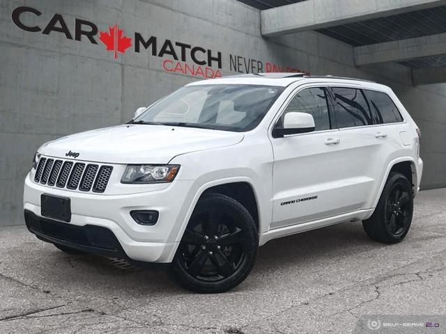 2015 Jeep Grand Cherokee ALTITUDE / LEATHER-SUEDE / ROOF