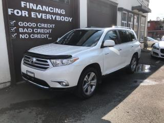 Used 2012 Toyota Highlander LIMITED  for sale in Abbotsford, BC