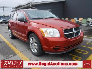Used 2009 Dodge Caliber SXT 4D Hatchback for sale in Calgary, AB