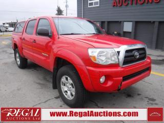 Used 2008 Toyota Tacoma Base Double CAB 4X4 V6 for sale in Calgary, AB