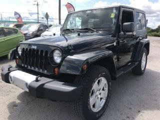 Used 2010 Jeep Wrangler Sahara for sale in Gloucester, ON