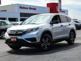 Used 2015 Honda CR-V LX 2WD|NO ACCIDENTS for sale in Burlington, ON