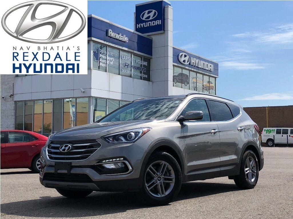 2018 Hyundai Santa Fe In Etobicoke Rexdale Hyundai