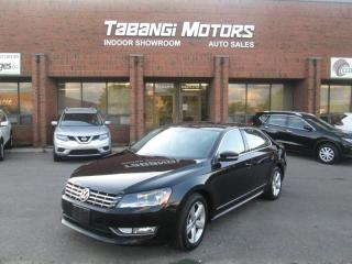 Used 2013 Volkswagen Passat TDI I LEATHER I SUNROOF I HEATED SEATS I BLUETOOTH for sale in Mississauga, ON