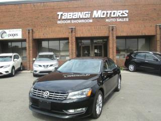 Used 2013 Volkswagen Passat TDI | HIGHLINE | NO ACCIDENTS | BIG SCREEN | REMOTE START for sale in Mississauga, ON