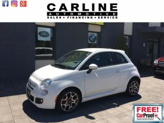 Used 2013 Fiat 500 2dr HB Sport for sale in Nobleton, ON