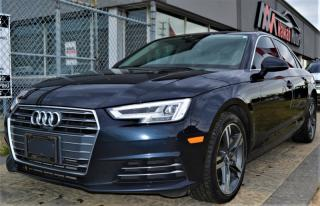 Used 2017 Audi A4 WARRANTY|COOLED & HEATED SEATS|DIGITAL DASH|NAV for sale in Brampton, ON