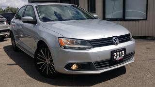 Used 2013 Volkswagen Jetta HIGHLINE TDI - LEATHER! SUNROOF! 6-SPEED MT! for sale in Kitchener, ON