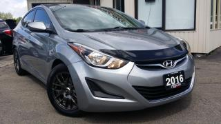 Used 2016 Hyundai Elantra GL - BACK-UP CAM! HEATED SEATS! BLUETOOTH! 6-SPEED MT! for sale in Kitchener, ON