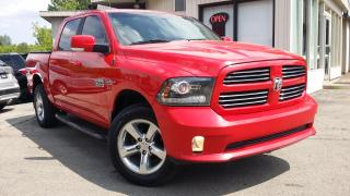Used 2013 RAM 1500 Sport Crew Cab SWB 4WD - HEMI! UCONNECT! for sale in Kitchener, ON