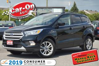 Used 2018 Ford Escape SE 4WD REAR CAM HTD SEATS BLUETOOTH ALLOYS for sale in Ottawa, ON